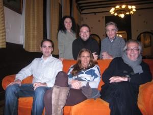 Coachtulianos: Victoria Caro, Michael Thallium, Paco Torres, Jesús Iglesias, Marga y Fernando Marcos