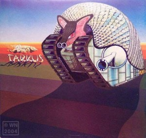 Cubierta del álbum de ELP diseñada por William Neal