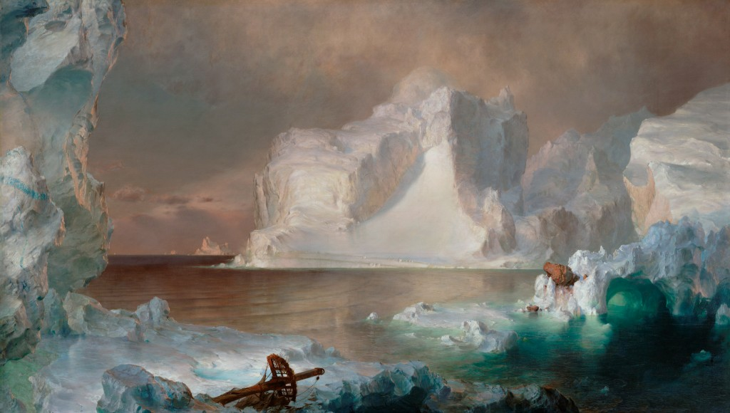 The Icebergs, Frederic Edwin Church, 1861.