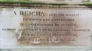 Placa conmemorativa Reicha