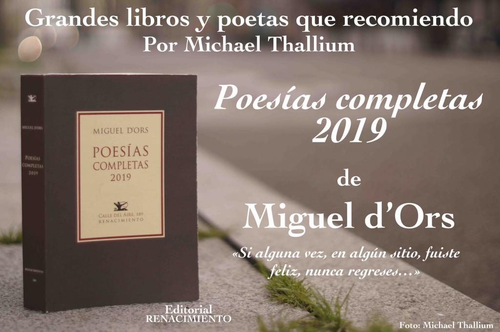 Miguel d'Ors - Poesías completas