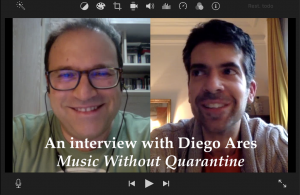 An interview with Diego Ares - Michael Thallium