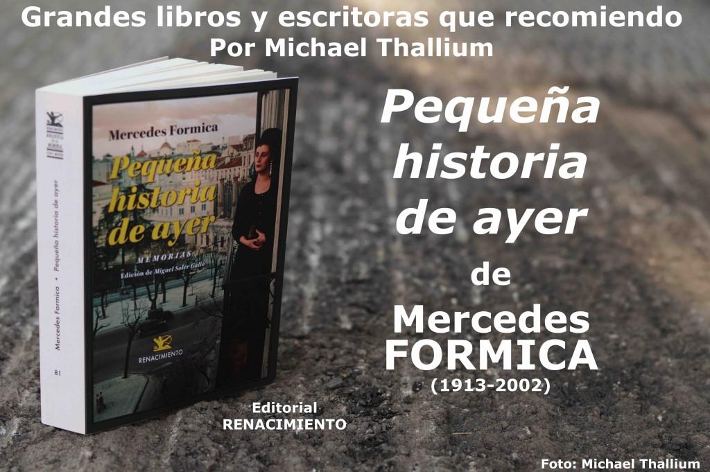 Mercedes Formica - Pequeña historia de ayer