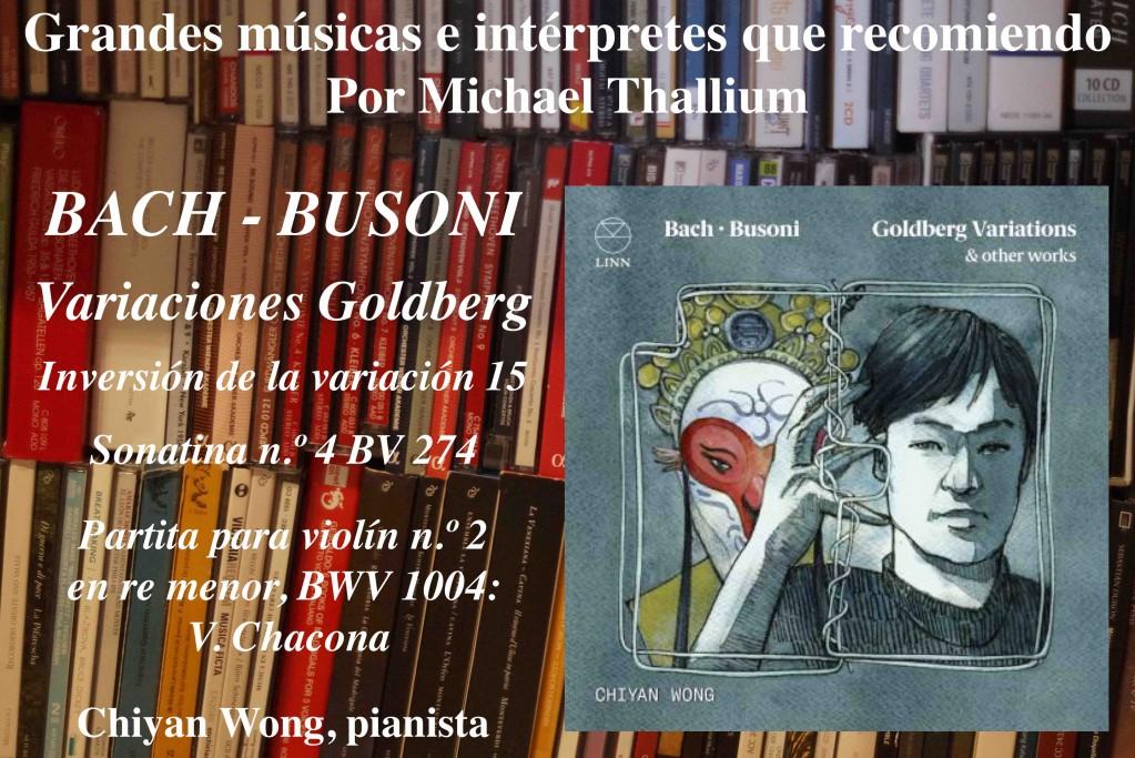 Chiyan Wong / Bach-Busoni