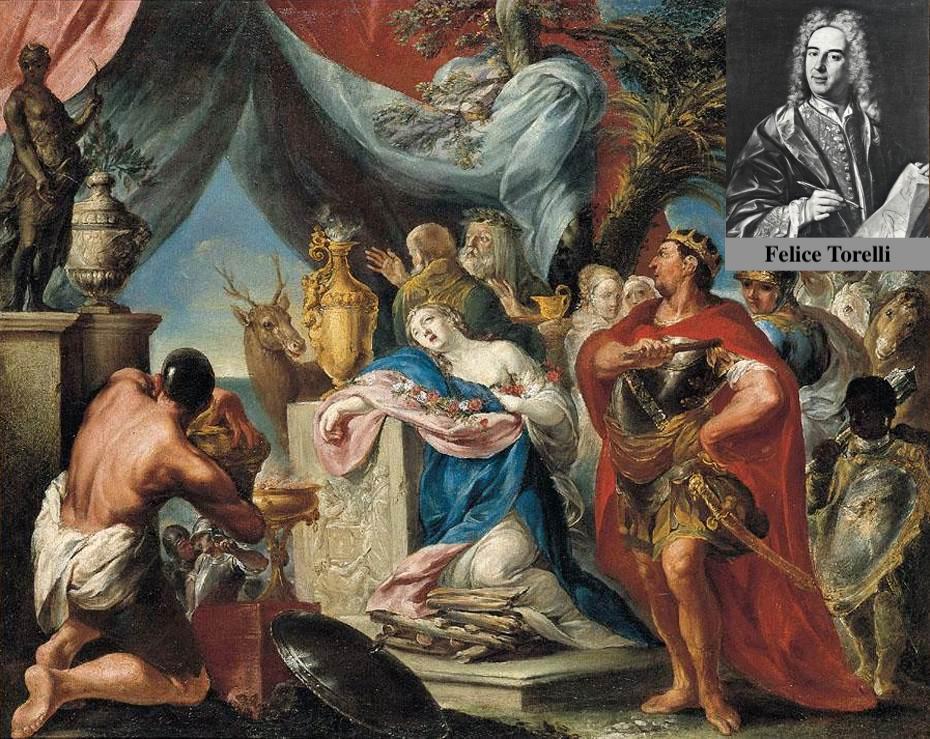 Felice Torelli-Sacrificio de Ifigenia