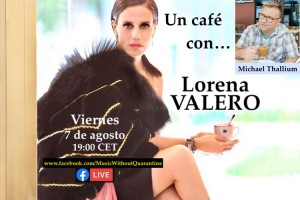 A coffee with Lorena