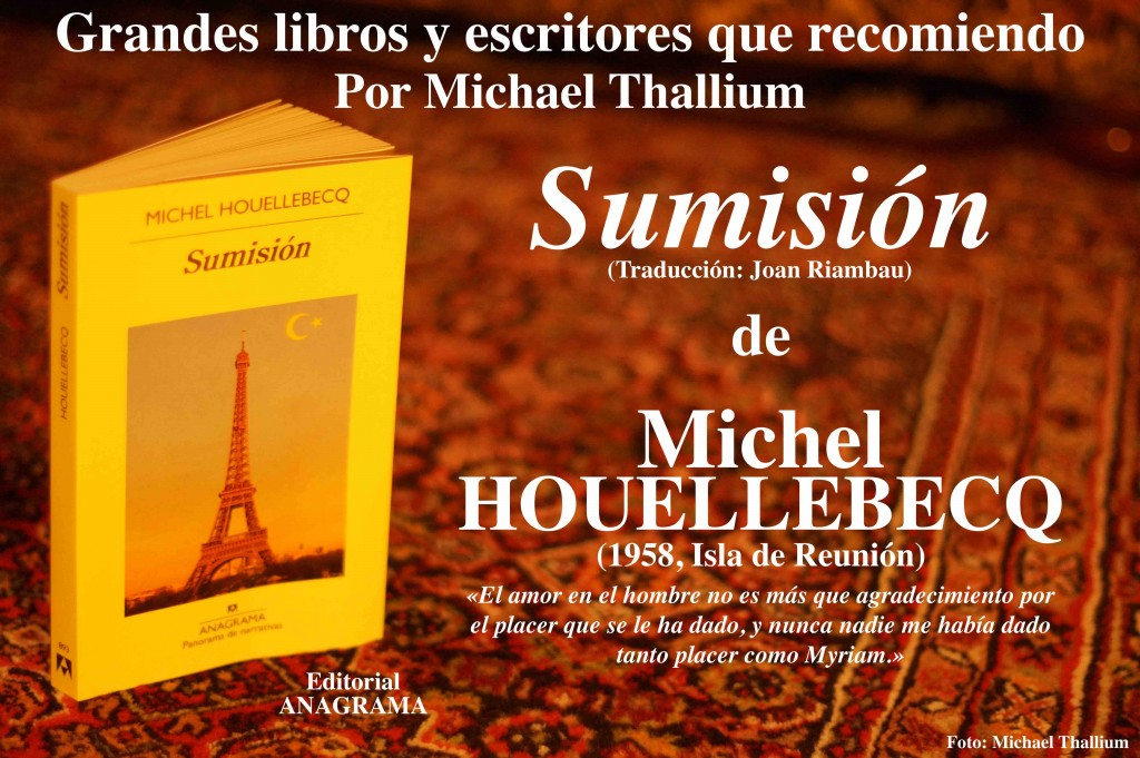 Michel Houellebebcq - Sumisión