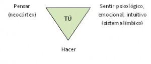 triángulo de la experiencia